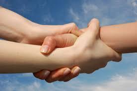 mãos entrelaçadas COACHING